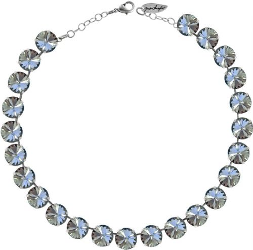 Necklace  Crystal-Blue Shade with Swarovski Crystals